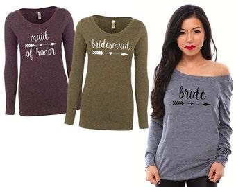 Bridesmaid Gift. Bridesmaid Shirts. Bridesmaid Proposal. Maid of Honor Gift. Maid of Honor Shirt. Bride Shirt. Bride to Be Gift. Bride Gift.