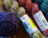 4 Skeins Louisa Harding Grace Harmonies (442 yards, 4 different colors, free domestic shipping)