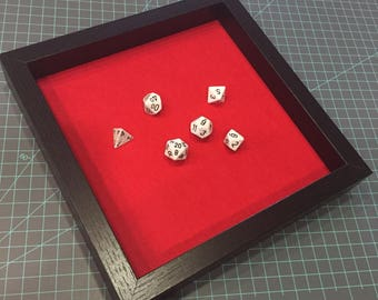"""10""""x10"""" Dice Tray; Christmas Gift; Stocking Stuffer; Gifts Under 25"""
