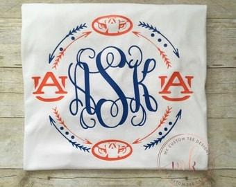 Auburn Shirt - War Eagle - War Eagle Shirt - Auburn Tigers - Auburn Football - Womens Auburn Shirt - War Eagle Auburn Shirt