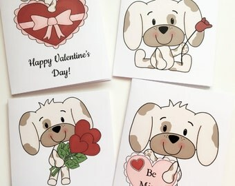 Valentine card, Valentine Card set, Valentine notes, Love card set, cards, card set, stationary, paper crafts, love cards, love notes
