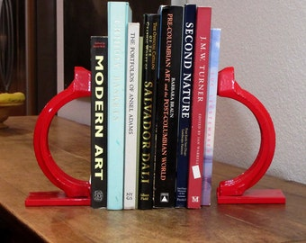 Salvaged Metal Bookend