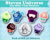 Itty Bitty Steven Universe Vinyl Stickers Pack