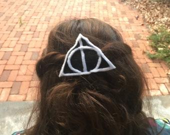 Harry Potter, deathly hallows symbol or sorting hat felt headband