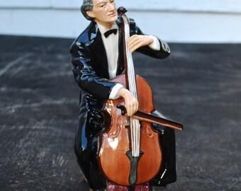 Royal Doulton The Cellist Figurine