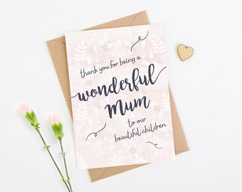 Mother's Day Card Wife Girlfriend Partner
