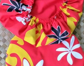 A pair of reversible 'uli'uli covers