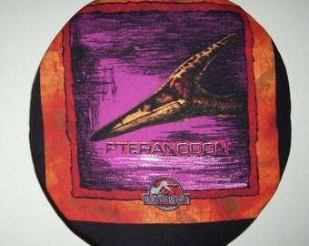 Free shipping! Jurassic Park Pteranodon dinosaur reversible steering wheel cover