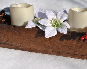 Altholz, Holz Rustikal Herzstück Box, Kerze Box, Rustikalen Tisch Dekor,  Rustikale Good Looking
