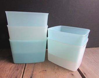 Tupperware Square Round Containers NO LIDS