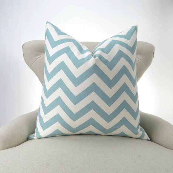 Should I Throw Away Old Pillows : Blue Natural Decorative Throw Pillow Cover for up to 28x28