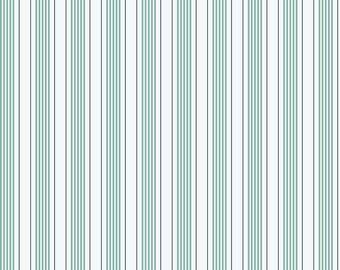 High Quality  Riley Blake Designs Sea Stripe Aqua, Beautiful fabric!
