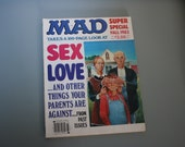 MAD MAGAZINE Takes a 100-Page Look at Sex, Love, And Other Things Your Parents Are Against, Super Special Fall 1983