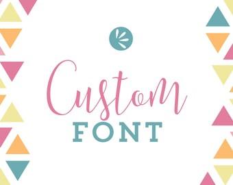 Custom Font Add-On