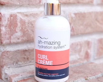 Curl Creme - hair moisturizer, curl enhancer, and leave in conditioner (Ah-mazing Hydration System)