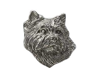 Cairn Terrier ~ Lapel Pin/Brooch ~ D042,DC042,DP042A,DP042B
