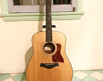 lovingly used acoustic electric Taylor 110e Guitar
