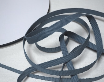 75% Off Retail, Wholesale Priced .... Japanese Sanada-Himo Solid Light Indigo Cotton Flat Cord 12mm, 60 meter Roll (65.5 yards)