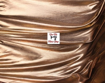 Gold/Black Metal Skin Lame Fabric .. great for costumes, dance, theater, formal wear, pageant.