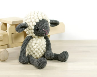 SALE -30% | Sheep - Crocheted toy lamb - Amigurumi sheep
