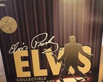 Vintage dual Elvis ornament set...FREE shipping!!!