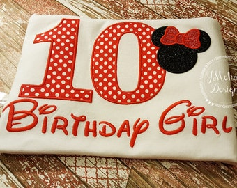 Disney-Inspired Birthday Shirt - 16th - 21st - 40th - 50th - 60th - Custom Birthday Tee 811