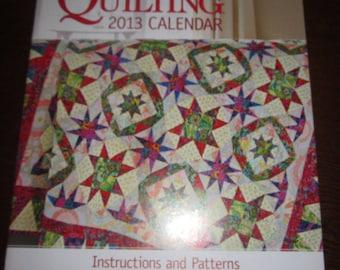 American Patchwork & Quilting 2013 Calendar