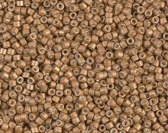11/0 Miyuki Delica Seed Beads DB1163 - Galvanized Matte Mead Delica 1163 - 6 Grams - Delica ...