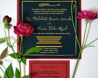 Wedding Invitations | Hindu | Muslim | Indian | Pakistani