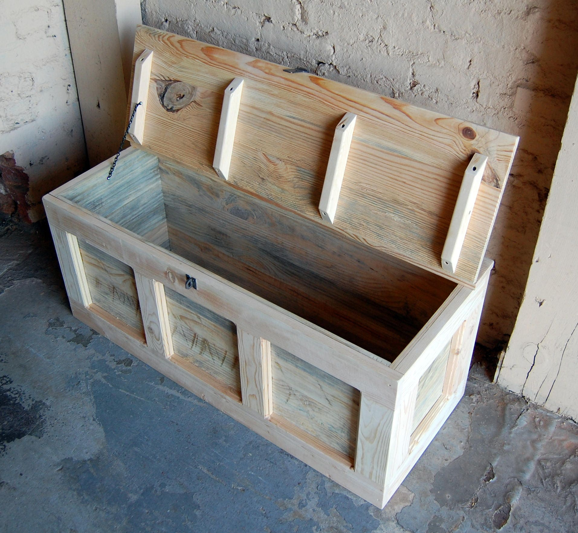Hope Chest Coffee Table Entry Trunk Wooden Chest Steamer Trunk