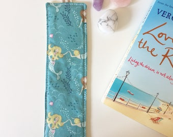 Mermaid bookmark (turquoise)