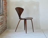 "RESERVED - Early Norman Cherner ""Bernardo"" Chair for Plycraft"