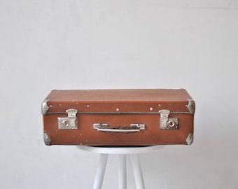 Soviet vintage suitcase