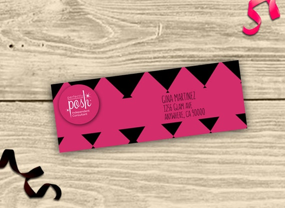 Perfectly Posh Address Labels Pdf No 3 Oh So Posh Pink And