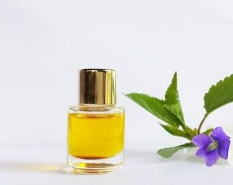 "Natural Violet Perfume ""Russe Violette"" Natural fragrance Exotic perfume Violets Fruit 3 ml cruelty free vegan"