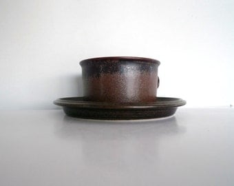 Arabia Ruska Cups - Tea cups- Designed by Ulla Procopé 1970s Finland