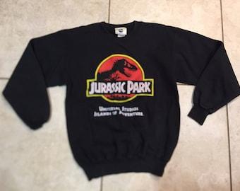 Vintage 90's Jurassic Park Universal Studios Sweatshirt S