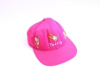 Hot Pink Tweety Baseball Hat
