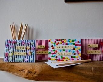 Five Pack Greetings Cards - Top Banana!