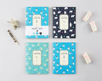 Animal Mini Note- Set of 3