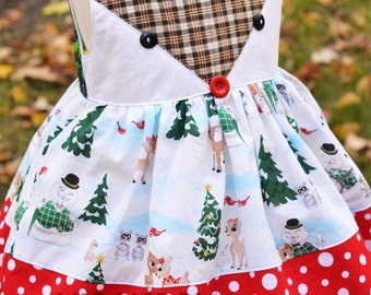 The ORIGINAL Rudolph Dress: Classic Rudolph and PERFECT for layering - custom sizes available