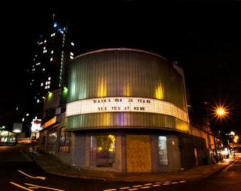 Gone but not forgotten (2016) Fine art photography, Urban Manchester, The Cornerhouse