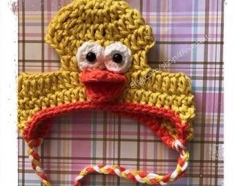 Chick Crochet Hat