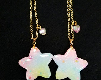 Pastel Kawaii Star Necklace