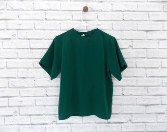 EMERALD DREAM - Jack Mulqueen Dark Green Blouse