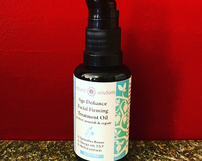 Wrinkle Reducing Antioxidant Treatment Oil. Raw, organic, vegan & alcohol free.