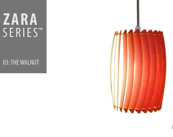 ZARA Designer Series™ 03: The Walnut - Pendant Lamp