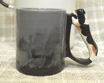 Dog Handle Mugs © Ready