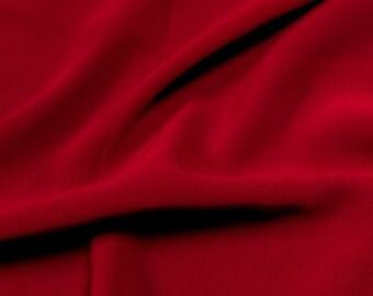 Red 59'' Poly Hi-Twist Chiffon Fabric  by the Yard, Chiffon Fabric, Wedding Chiffon, Lightweight Chiffon Fabric - Style 687