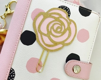 Aphrodite Rose PaperClip | Planner Clip | Planner Page Marker | Planner Accessory